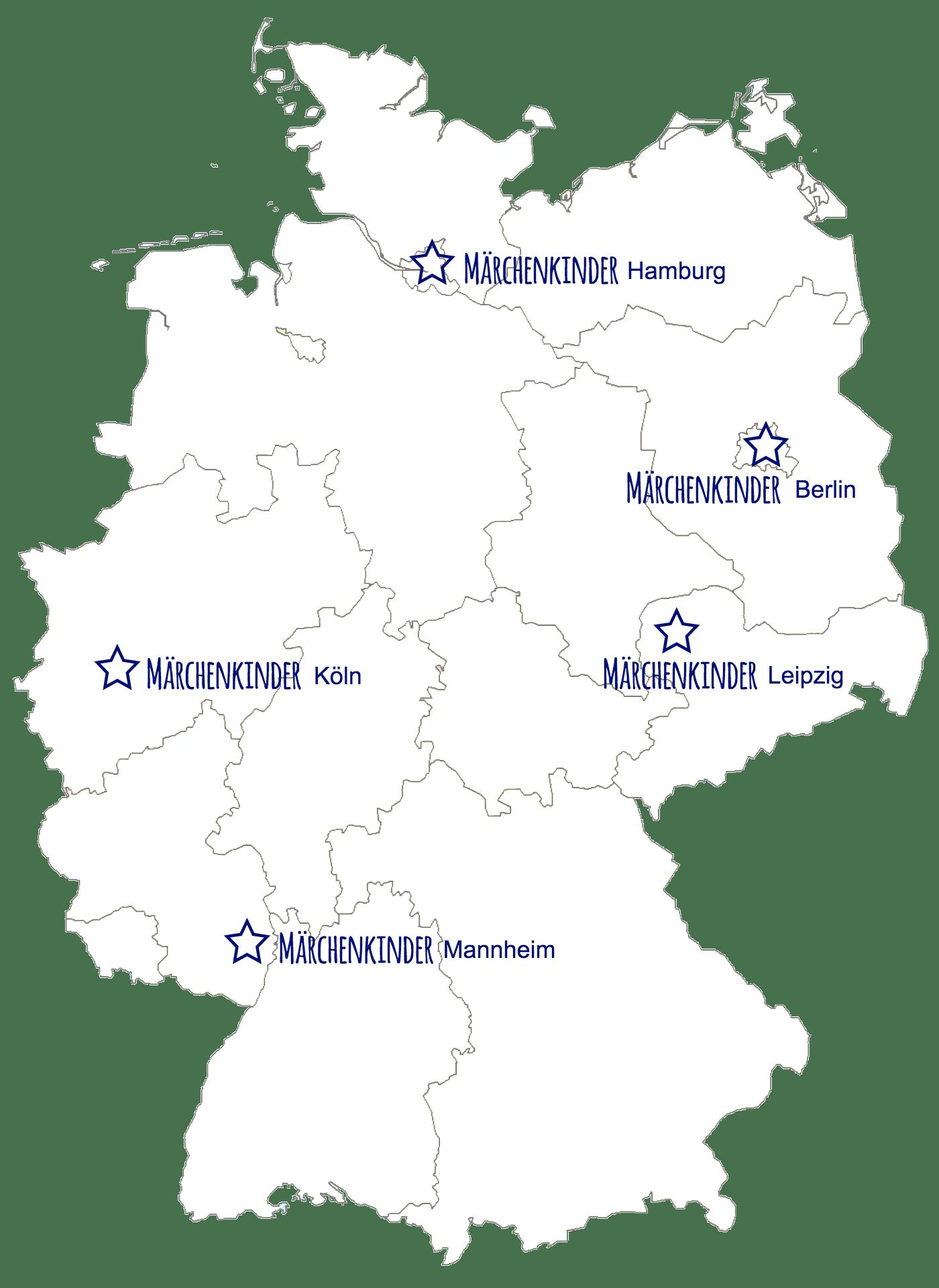 Märchenkinder®-Standorte
