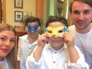 Kinderbetreuung mit Superhelden