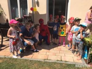 Kindergeburtstag mit Spider Hero WhatsApp Image 2017-08-01 at 12.33.45
