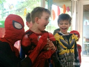 Kindergeburtstag mit Spider Hero in Leverkusen IMG_0999