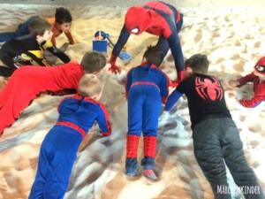 Kindergeburtstag mit Spider Hero in Leverkusen IMG_1003