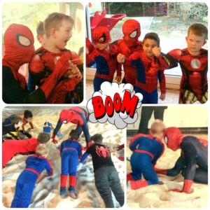 Kindergeburtstag mit Spider Hero in Leverkusen