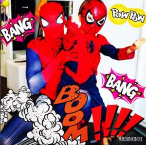 Kindergeburtstag mit Spider Hero und Superhelden Bildschirmfoto 2017-04-24 um 14.31.42