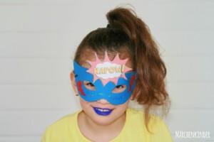 Kleine Superheldinnen auf einem Kindergeburtstag mit Märchenkinder IMG_2200-1